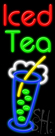 Iced Tea Neon Sign