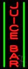 Juice Bar Neon Sign