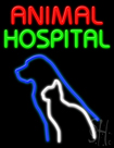 Animal Hospital Neon Sign