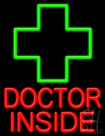 Doctor Inside Neon Sign