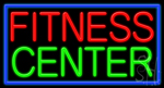 Fitness Center Neon Sign