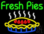 Fresh Pies Neon Sign