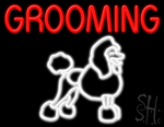 Grooming Neon Sign