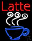 Latte Neon Sign