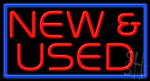 New And Used Neon Sign