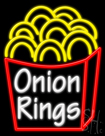 Onion Rings Neon Sign
