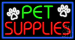 Pet Supplies Neon Sign