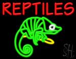 Reptiles Neon Sign