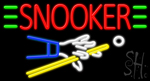 Snooker Neon Sign