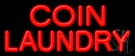 Coin Laundry Neon Sign