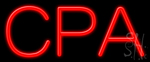 Cpa Neon Sign