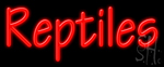 Reptiles LED Neon Sign