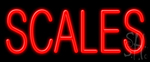 Scales LED Neon Sign
