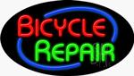 Bicycle Repair Neon Sign