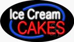 Ice Cream Cakes Neon Sign