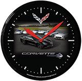 Corvette C7 Heritage 14 Inch Neon Clock