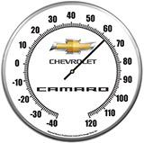 Thermometer Chevrolet Camaro 14 Inch Neon Clock