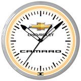 Chevrolet Camaro 20 Inch Neon Clock