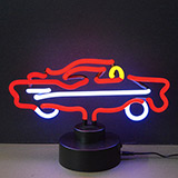 Retro 57 Car Neon Sculpture
