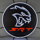 Dodge Hellcat Srt Neon Sign