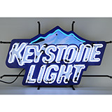 Millercoors - Keystone Light Beer Neon Sign