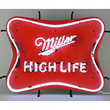 Millercoors - Miller High Life Beer Neon Sign