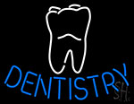 Dentistry Logo Neon Sign