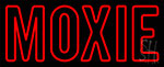 Red Moxie LED Neon Sign