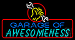 Garage Of Awesomeness Neon Sign
