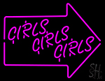 Girls Neon Sign