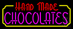 Hand Made Chocolates Neon Sign