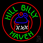 Hill Billy Haven Neon Sign