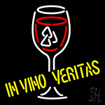 In Vino Veritas Neon Sign