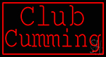Red Border Club Cumming Neon Sign