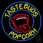Taste Buds Popcorn Neon Sign