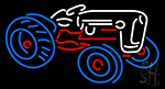 Tractor Logo Neon Sign