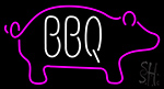 Bbq Logo Neon Sign