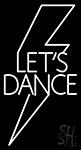 Flash Lets Dance Neon Sign