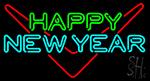 Happy New Year Logo 1 Neon Sign