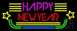 Happy New Year Logo 2 Neon Sign