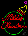 Marry Christmas Logo 2 Neon Sign