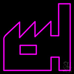 Pink House Neon Sign