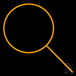 Search Logo Neon Sign