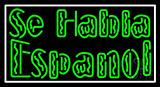 Se Habla Espanol Salon Neon Signs
