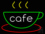 Cafe Cup Neon Sign