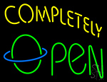 Completely Open Neon Sign