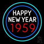 Happy New Year 1959 Bioshock Neon Sign