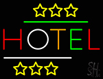 Hotel Neon Sign