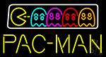 Pac Man Neon Sign