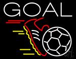 Soccer Goal Neon Sign